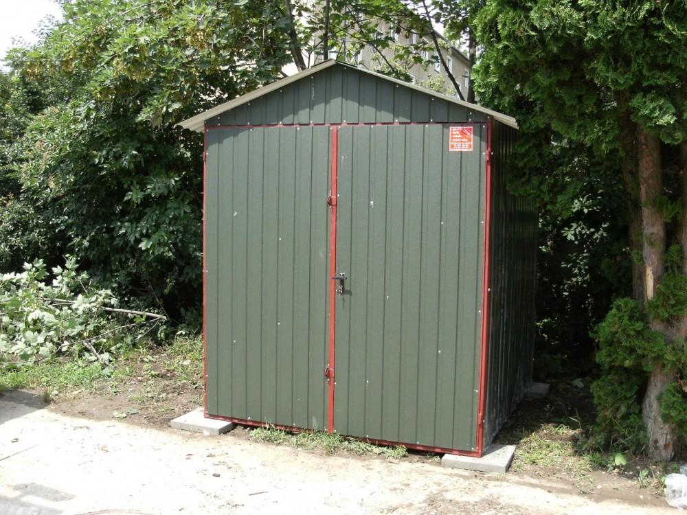 Garaże Blaszane Akrylowe Garaż Blaszak
